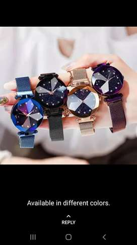 Fancy magnet watches
