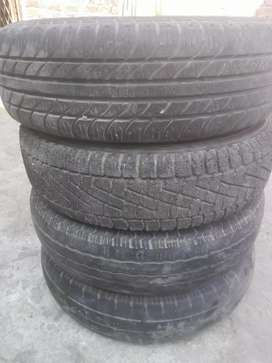 Four tyre and rim for sale in good condition in low price urgent sale