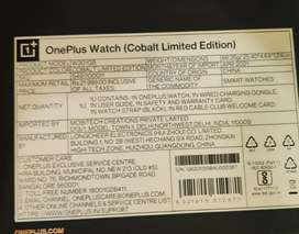 Oneplus cobalt limited edition,1/6 months age.