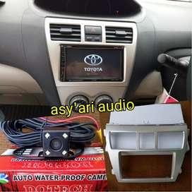 Paket TV untuk Toyota Vios gen 2 + camera dan Fame