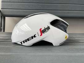 Helm Sepeda Roadbike Bontrager Ballista Mips Team Edition White M / L