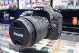 Canon 80D kit 18-135mm Credit bunga 0%