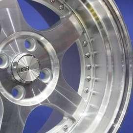 pelek SC-02 5131 HSR Ring.15 Lebar.8-9 PCD.4X100 smf