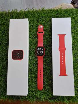 Apple watch SERIES 6 RED ALUMINIUM CASE SPORTS BAND