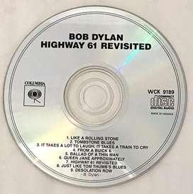 CD audio ori Bob Dylan Highway 61 Revisited (folk/blues) - no box