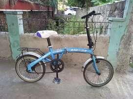 Jual sepeda lipat Aleoca size 16 normal siap goess minat HUB/WA PROFIL