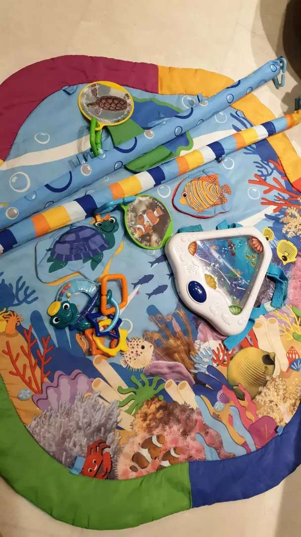Preloved baby einstein playmat 0