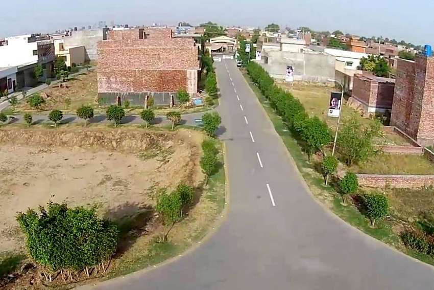 5 Marla Residential Plot Is Available For Sale In Ashrafi Town 0