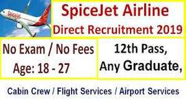 required 10th,12th airport jobs