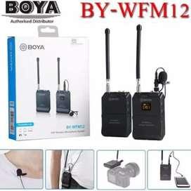 Boya mic wireless WFM 12