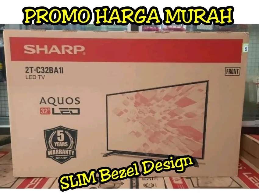 SHARP LED TV 32 inch HD HDMI USB GARANSI RESMI 0
