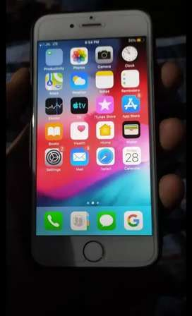 Iphone 6 32gb gold good condition sell in14000/-  With Bill box