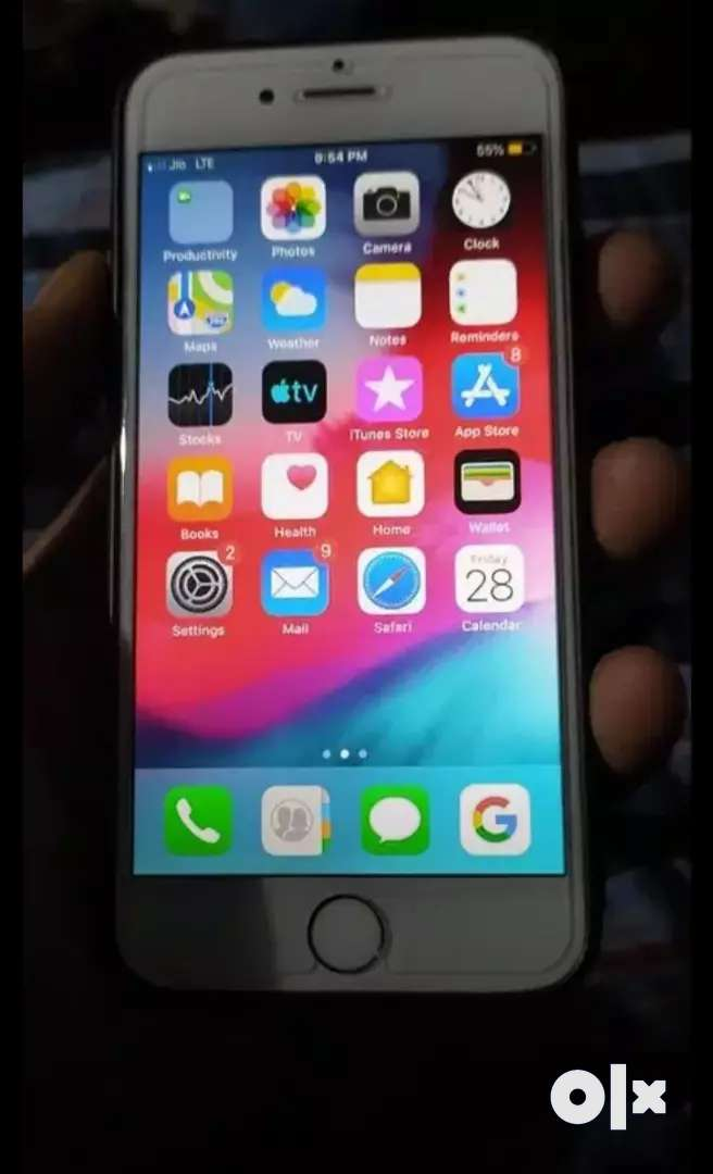 Iphone 6 32gb gold good condition sell in14000/-  With Bill box 0