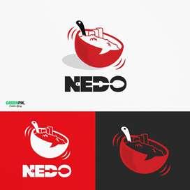 Design Logo Brosur banner flyer sticker paperbox packaging website