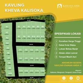 Jual tanah kavling murah di pengasih kulon progo cukup dp 10 juta