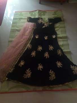 Party wear lehanka @ 4000