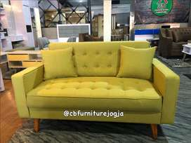 sofa retro harga ekonomis
