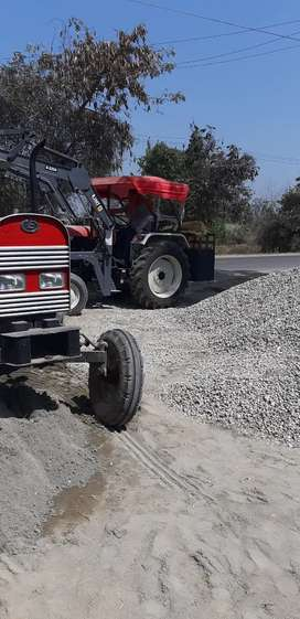 50 hours running tractor loader machine