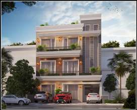 3Bhk Flat in 200 sqyd sector 117 Mohali