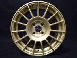velg mobil bisa di cicil   tamasaki ring 15x7 hole 4x100 et.38 gold