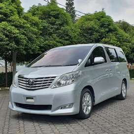 KM80RB ALPHARD 2.4 G AT PREMIUM SOUNDS 2009 SILVER