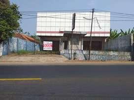 Jual murah bangunan Ex showroom di Cipatat Padalarang