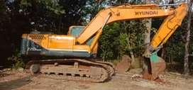 Hyundai 220 siap kerja