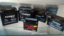 Main Dealer Accu Motor MF Turbo Start Battery Aki Import