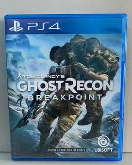Bd Ps4 Game Tom Clancy's Ghost Recon Breakpoint