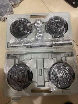 Barbell / dumble 15kg besi