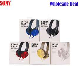 Sony  On-Ear EXTRA BASS Headphones with Mic MDR-XB450 At wholesale