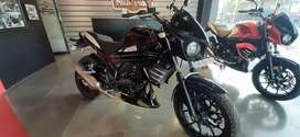 Mahindra Mojo ABS. Dual exhaust can be added