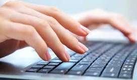 DATA TYPING JOB AT HOME (SIMPLE TYPING JOB)