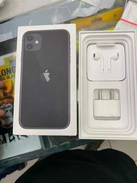 Iphone 11 black color 64gb mint condition 100%betry helth b
