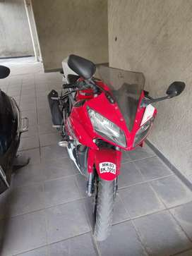 Yamaha r15 v2  red beauty