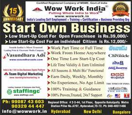 Low Start up Cost Business with Training in Media Group