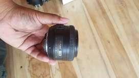 Lensa 35mm afs f1.8 komplit