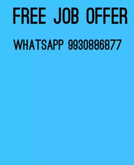 Free job for male and female