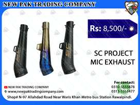SC PROJECT MIC EXHAUST