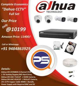 Challenging Price CCTV Camera Set at 10199
