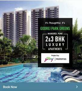 2bhk and 3bhk flats in Godrej New Launch Project.