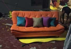 Sofa bed 2in1 ovale