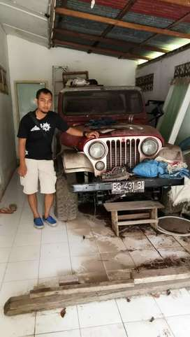 Di jual Jeep Cj7 th1980