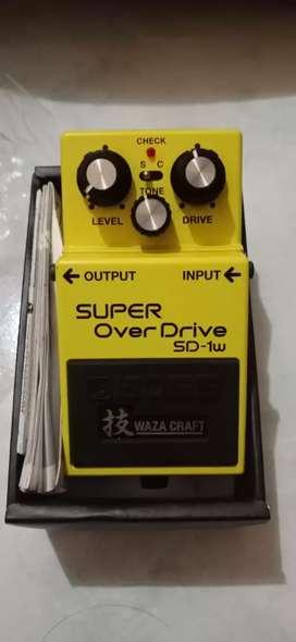BOSS SD - 1w SUPER Over Drive Waza Craft