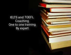 IELTS AND TOEFL TRAINING.