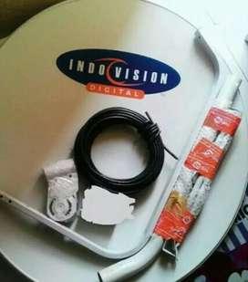 Indovision Mnc Vision jernih super hemat tahan hujan