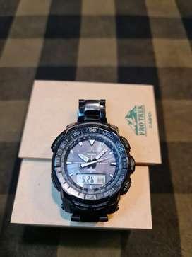 Jam tangan andventure  Casio Protrek PRG 5213