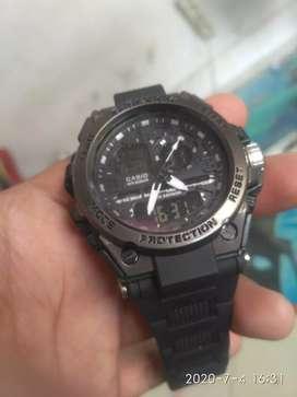 Jam tangan cassio dual time