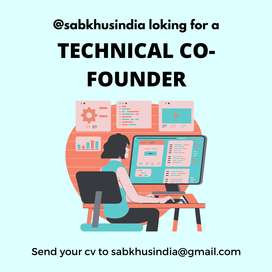 LOOKING FOR A TECHNICA CO-FOUNDER