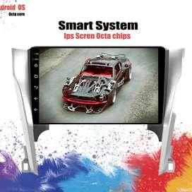 Head unit Android Paket PnP untuk Toyota Camry 2012-14 tinggal pasang